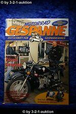 Motorrad Gespanne Nr.67 1/02 Dieselgespann 750er Ural