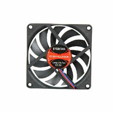 EverCool 80x10mm 5V EC8010LL05E Ball Bearing Fan, 3Pin