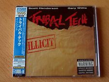 "TRIBAL TECH  SCOTT HENDERSON  GARY WILLIS ""Illicit"" Japan CD  24bit"