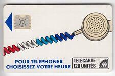 VARIETE TELECARTE CORDON BLANC .. 120U Ko60 SC4AB SE T7 IMP.14421 UT/TBE  C.280€