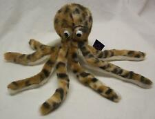 """The Petting Zoo FUNNY SPOTTED OCTOPUS 5"""" Plush STUFFED ANIMAL Toy"""