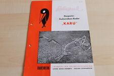 144699) Rabewerk Zuckerrüben-Roder - KARÜ - Prospekt 07/1955