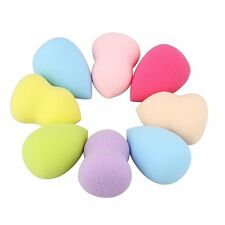 4pcs New Pro Makeup Foundation Sponge Blender Puff Flawless Powder Smooth Beauty