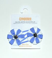 Gymboree Hair Clips Barrette Greek Isle Style Girls NEW te1