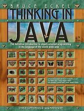 Thinking in Java by Bruce Eckel - 4th Edition (2006, Paperback, Revised)