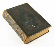 """Antique Leather-Bound """"Poetical Works of Lord Byron"""" 1859 John Murray Edition"""