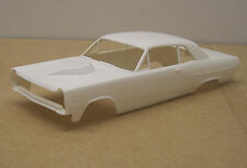 67 COMET SEDAN BODY  W/TEAR DROP HOOD   1/25 SCALE RESIN (SLOT CAR)