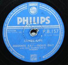"""10"""" 78 - Doris Day / Johnny Ray - Candy Lips - Philips PB157 - 1953"""