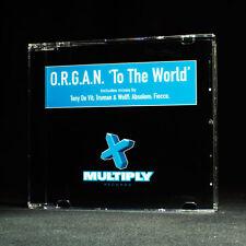 ORGANO To The Mondo Caratterizzato da Tony De Vit,Absolom,Fiocco musica cd EP