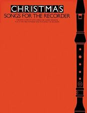 Christmas Songs For The Recorder Learn to Play Xmas Songs Carols Music Book
