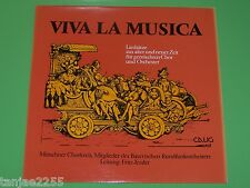 Viva la Musica - Liedsätze Lieder Kantaten für Chor und Orchester - Calig LP
