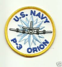 Navy P-3 ORION Airplane PATCH