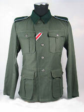 WWII German Elite M36 Summer Soldier Uniform Tunic&Pant Size M