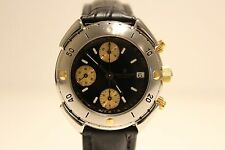 "RETRO NICE MEN'S STAINLESS STEEL AUTOMATIC CHRONOGRAPH WATCH""REVUE THOMMEN"" 7750"