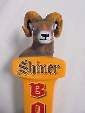 "Shiner Bock Beer Ram's Head Tap Handle ..11 1/2"" Tall .. New in Original Box"