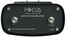 Focus Antennas Hamza Tv OTA Antenna Amplifier UHF/VHF/FM HAMZA BOOSTER-1515HD