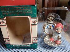 Enesco Time For Christmas Ornament Mouse  W/ Box - Used - Mint - #551325