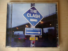 CD  - THE CLASH FROM HERE TO ETERNITY LIVE - 1999 SONY