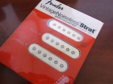 NEW - Fender Stratocaster Vintage Noiseless Pickup Set WHITE, 099-2115-000