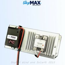 24 V 100 Amp Solid State Digital Charge Controller for Solar Panels SkyMax