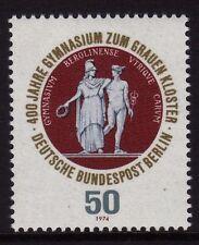 GERMANY MNH STAMP SET DEUTSCHE BUNDESPOST BERLIN 1974 GRAMMAR SCHOOL SG B456