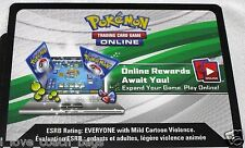 """3 x Pokemon """"Dragons Exalted""""  Booster Pack Online Code Cards TCGO (Unused)"""