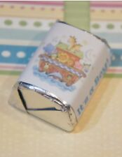 30 Baby Shower Its A Boy Noahs Ark Hershey Candy Nugget Wrappers Stickers