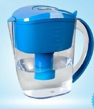 NEW ALKALINE WATER FILTER PITCHER 3.5 LITER BLUE FREE 2 DAY SHIPPING