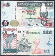 ZAMBIA 2 KWACHA AÑO 2012 (2013)  Pick Nuevo   SC  UNC