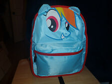 NEW MY LITTLE PONY RAINBOW DASH DERBY HOOVES BRONY 2 IN 1 REVERSIBLE BACKPACK
