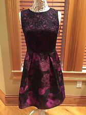 NWT LOVELY by ADRIANNA PAPELL DRESS SZ 4