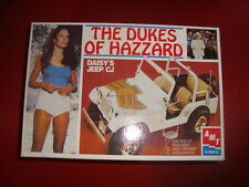 The Dukes Of Hazzard Daisy's Jeep AMT Ertl NO1/24 TAMIYA MONOGRAM ITALERI REVEL