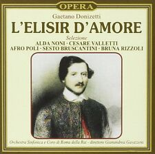 L'Elisir D'Amore Selezione (Selection) - Donizetti - Gavazzeni (CD 1997) New