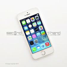 Apple iPhone 5S 16GB White/Silver Factory Unlocked SIM FREE   Smartphone