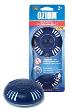 Ozium Smoke & Odors Eliminator Disk. Home and Car Air Freshener, Original 2-pack