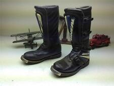 BLACK DISTRESSED ONEAL MOTORCYCLE MOTOCROSS BOOTS SIZE 9 D