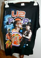 MAGLIETTA U2 POP MART TOUR   T-SHIRT  US  CONCERTS  TG. XL
