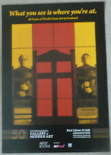 Gilbert and George - What you see is where you're at  ART EXHIBITION POSTER