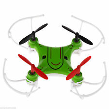 (NEW) BLUE 2.4GHz 6 Axis GYRO RC Quadcopter 3 in 1 Mini UFO Toy Drone - BLUE