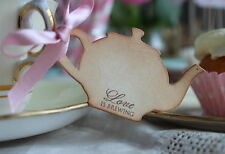 LOVE IS BREWING-Teapot-Vintage Style Tags/Labels-Set of 10-Wedding-Shower-Unique