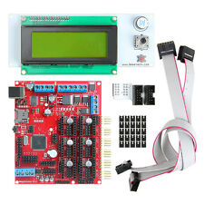 3D Kits Megatronics V2.0 Controller Board+LCD 2004 For Prusa Reparap 3D Printer