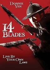 14 Blades, Very Good DVD, Sammo Hung, Wei Zhao, Donnie Yen, Daniel Yee
