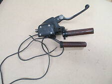 BMW 04  R1150RT R1150RTP front master cylinder heated grips