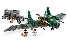 *BRAND NEW* LEGO Indiana Jones FIGHT ON THE FLYING WING 7683