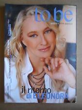 TO BE Teatro ed altre passioni n°5 2011 - Eleonora Giorgi   [GS50]