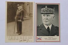 Lot 2 CPA - Philippe Pétain - Propagande France Vichy WW2