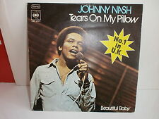 JOHNNY NASH Tears on my pilow CBS 3220