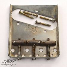 CORDIER TELECASTER FENDER USA PAT-PEND 3xBRASS SADDLE BRIDGE 0990806100 RELIC