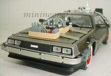 SUN STAR 2712 BACK TO THE FUTURE TIME MACHINE DELOREAN 1/18 PART 3