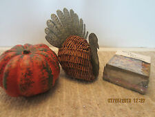 3PC SET OF HOME DECOR FOR THANKSGIVING & FALL